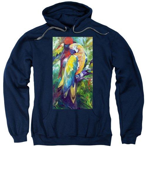 Macaw Pair Sweatshirt
