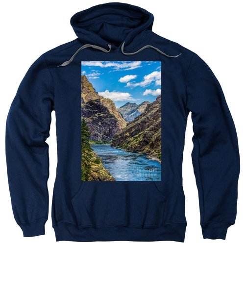 Majestic Hells Canyon Idaho Landscape By Kaylyn Franks Sweatshirt