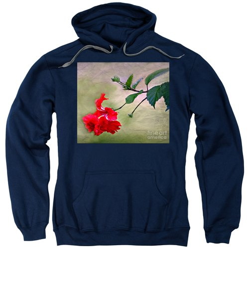 Majestic Hibiscus Bloom Sweatshirt