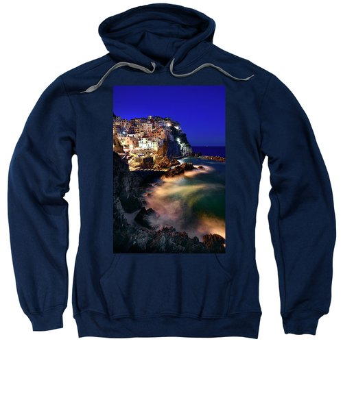 Manarola At Night Sweatshirt