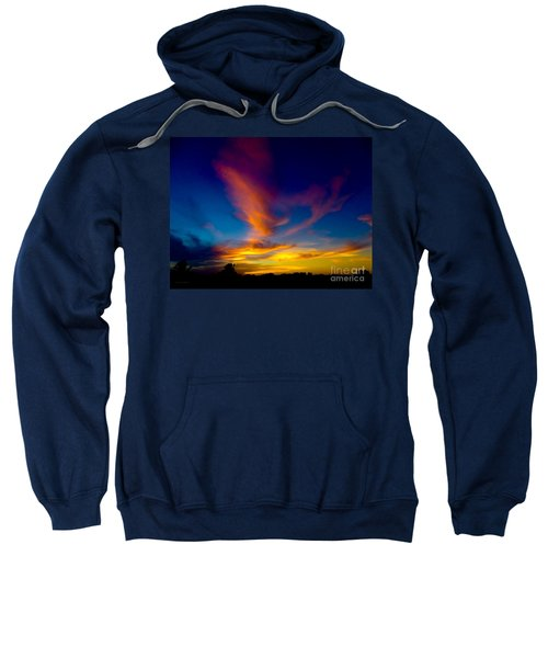 Sunset March 31, 2018 Sweatshirt