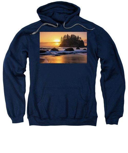 Marine Layer Sunset At Trinidad, California Sweatshirt