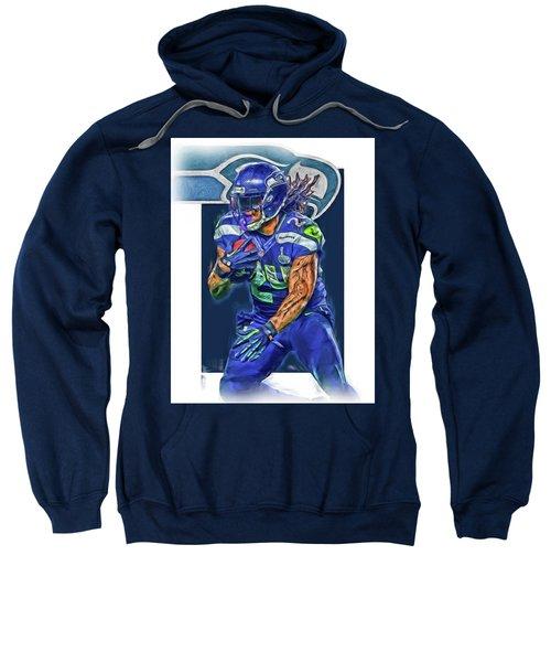 marshawn lynch SEATTLE SEAHAWKS OIL ART Sweatshirt