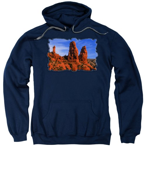Megalithic Red Rocks Sweatshirt
