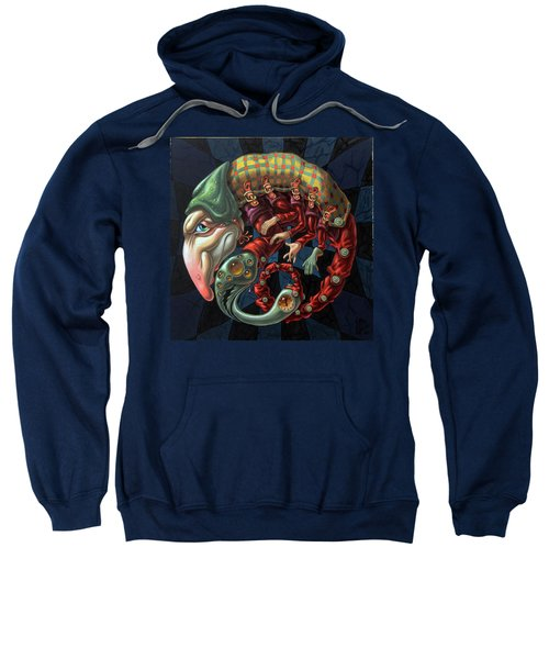 Memento Mori. Red Scorpion Sweatshirt
