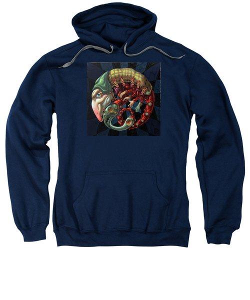 Memento Mori. Red Scorpion Sweatshirt