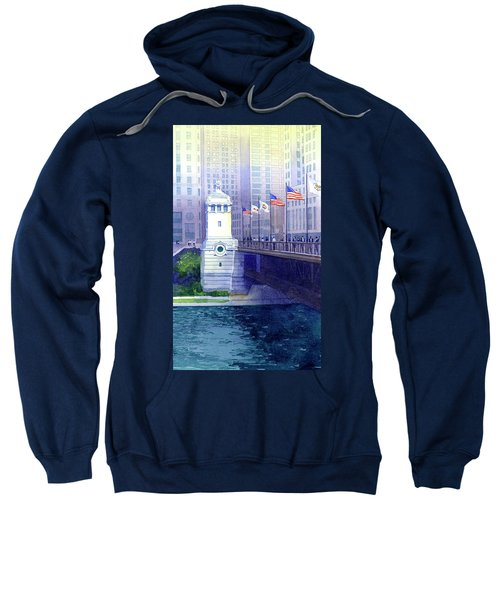 Michigan Avenue Bridge Sweatshirt