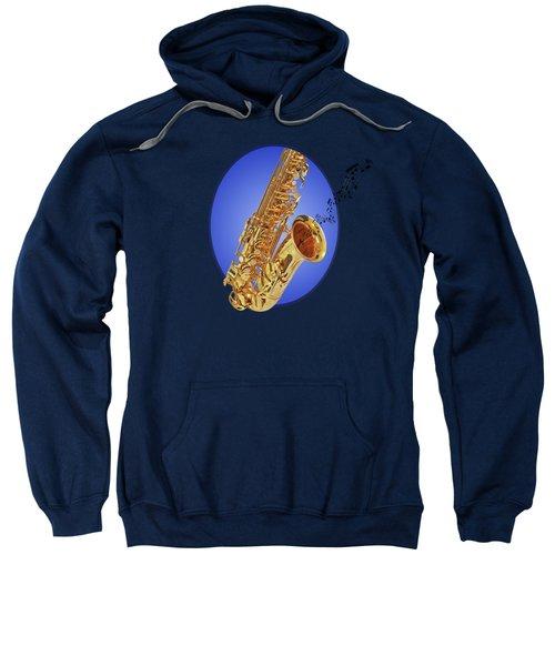 Midnight Blues Sweatshirt by Gill Billington