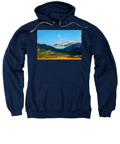 Moon Over Electric Mountain Sweatshirt