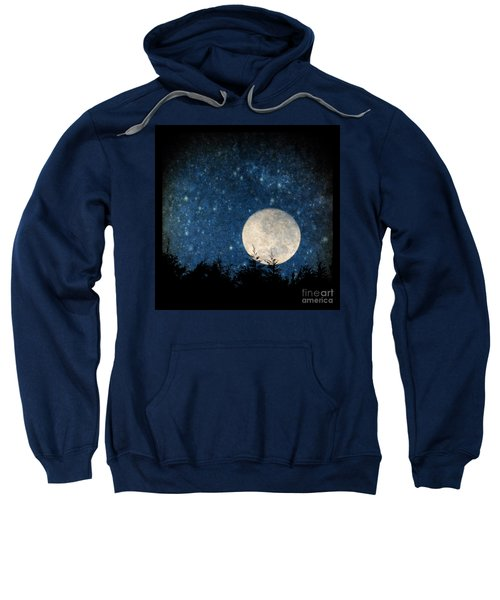 Moon, Tree And Stars Sweatshirt