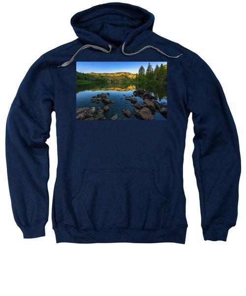 Morning Reflection On Castle Lake Sweatshirt