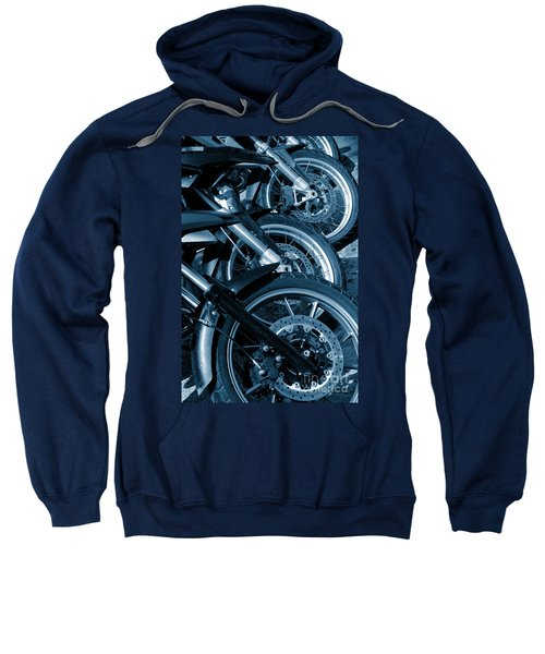 Motorbike Wheels Sweatshirt