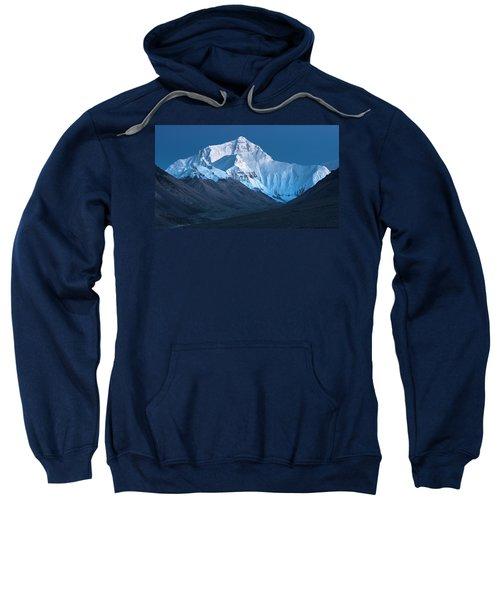 Mount Everest At Blue Hour, Rongbuk, 2007 Sweatshirt