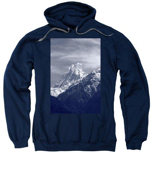 Mount Machapuchare, The Himalayas, Nepal Sweatshirt