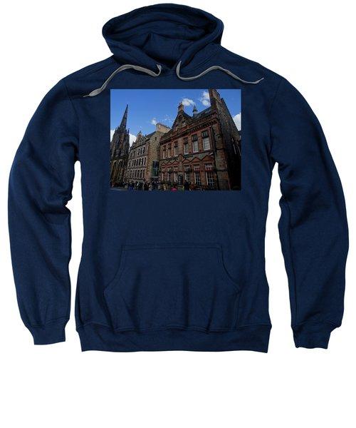 Museo Del Whisky Edimburgo Sweatshirt by Eduardo Abella