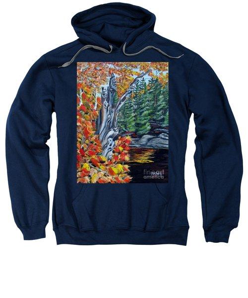 Natures Faces Sweatshirt