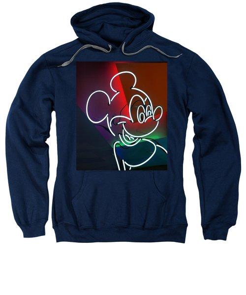 Neon Mickey Sweatshirt