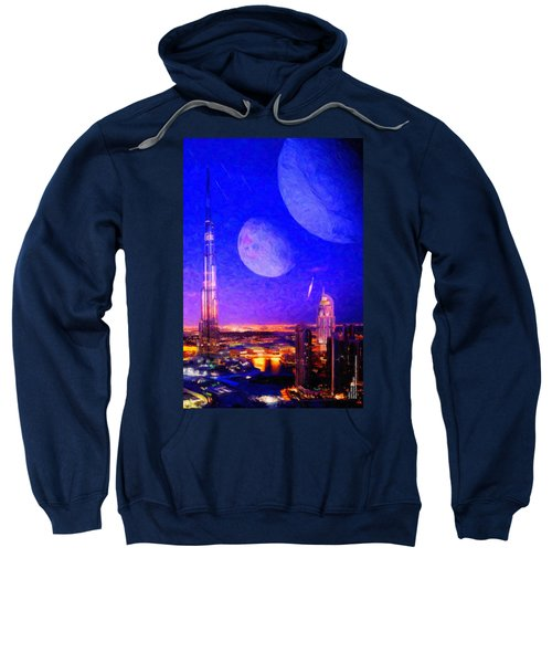 New Dubai On Tau Ceti E Sweatshirt