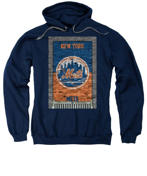 New York Mets Brick Wall Sweatshirt