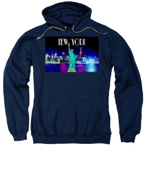 New York Shines Sweatshirt by Az Jackson