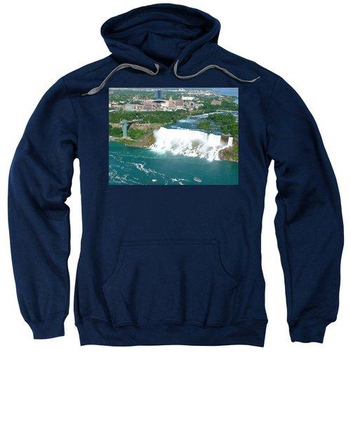 Niagara American And Bridal Veil Falls  Sweatshirt