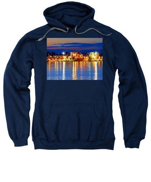 Night Time At The Shipyard Sweatshirt