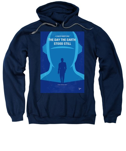 No514 My The Day The Earth Stood Still Minimal Movie Poster Sweatshirt