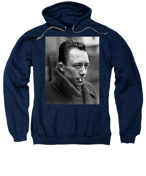 Nobel Prize Winning Writer Albert Camus Paris, France, 1962 -2015 Sweatshirt