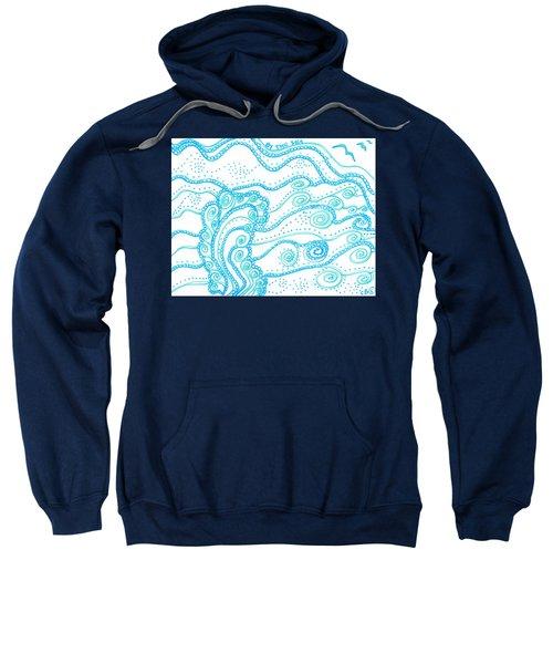 Ocean Waves Sweatshirt