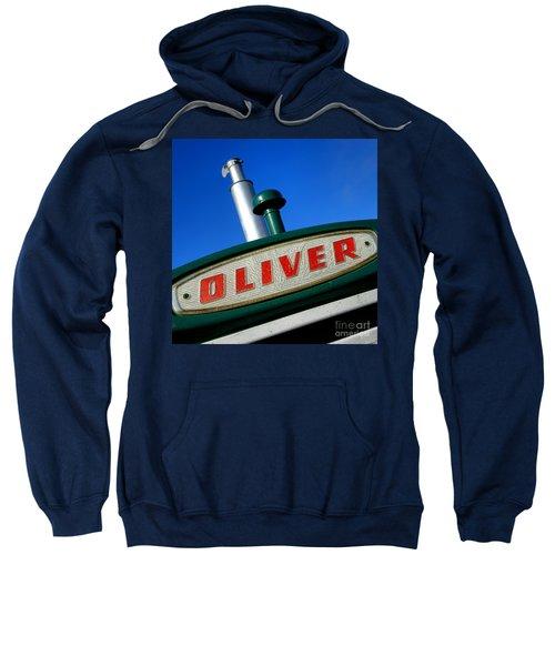 Oliver Tractor Nameplate Sweatshirt