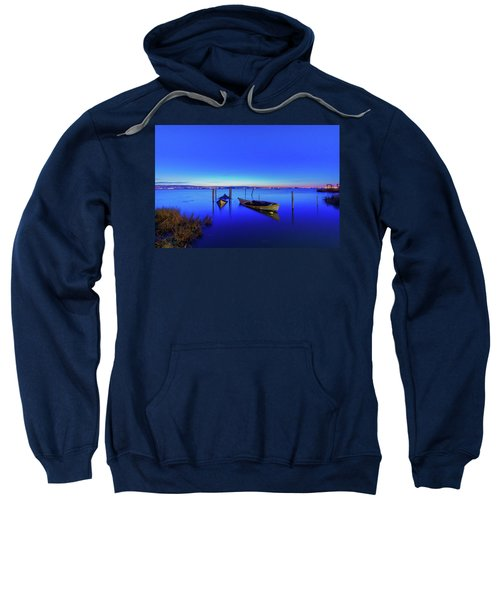 On A Mirrors Edge Sweatshirt