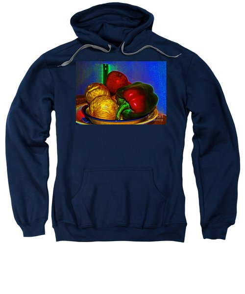 Onions Apples Pepper Sweatshirt