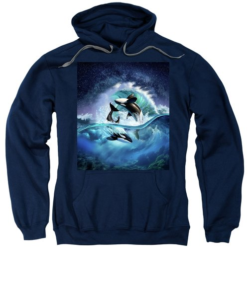Orca Wave Sweatshirt