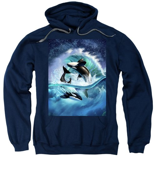 Orca Wave Sweatshirt