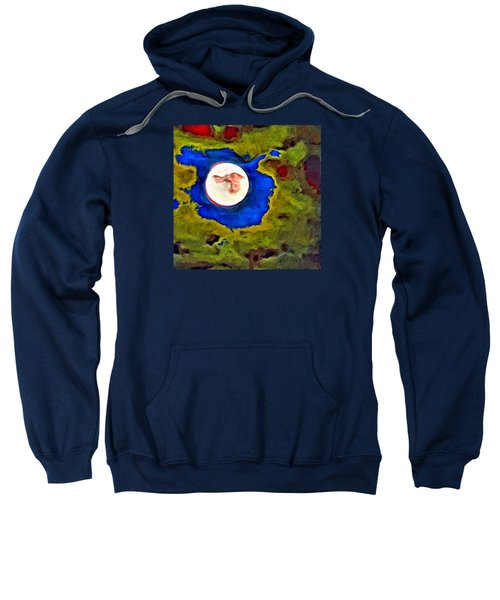 Painted Moon Sweatshirt