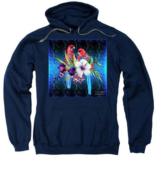 Paired Parrots Sweatshirt