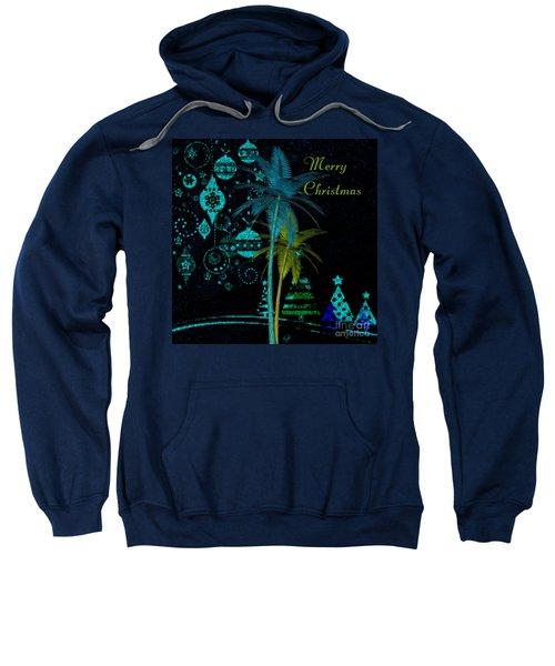 Palm Trees Merry Christmas Sweatshirt