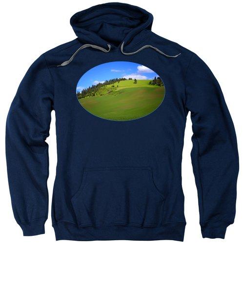 Palouse - Landscape - Transparent Sweatshirt
