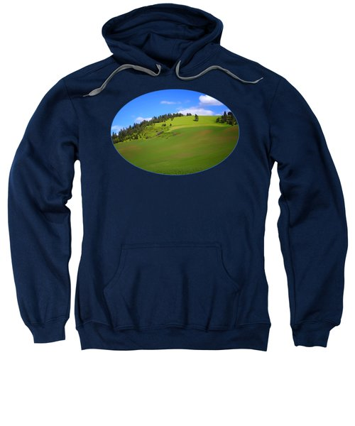 Palouse - Landscape - Transparent Sweatshirt