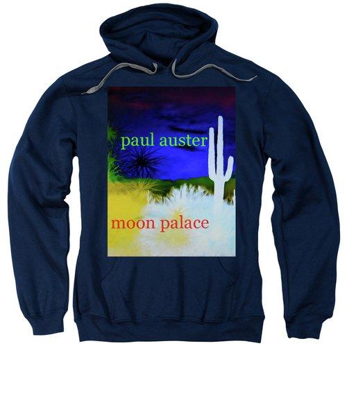 Paul Auster Poster Moon Palace Sweatshirt