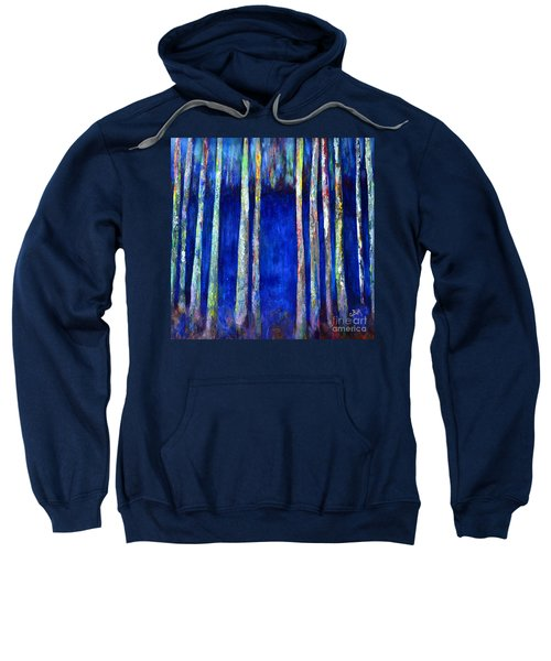 Peeking Through The Trees Sweatshirt