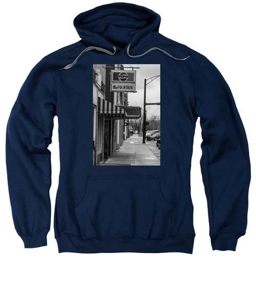 Pepsi The Fountain Sign Sweatshirt