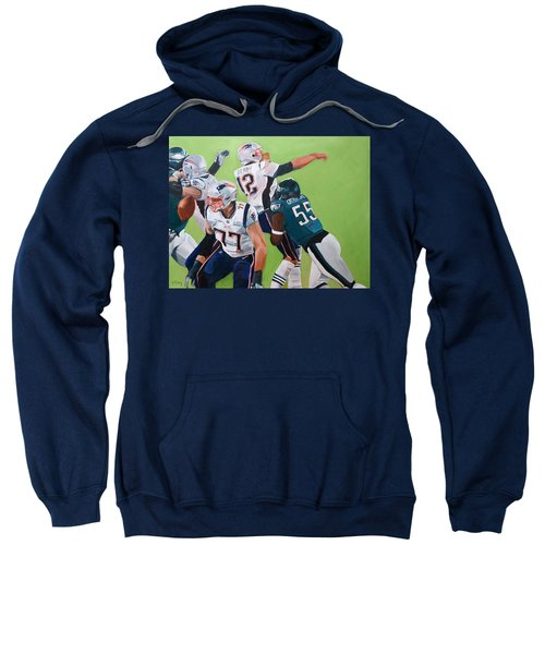 Philadelphia Eagles Strip-sack Of Tom Brady In Super Bowl Lii  Sweatshirt