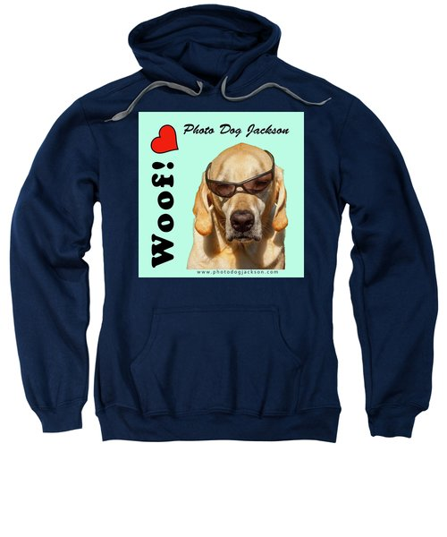 Photo Dog Jackson Mug Sweatshirt