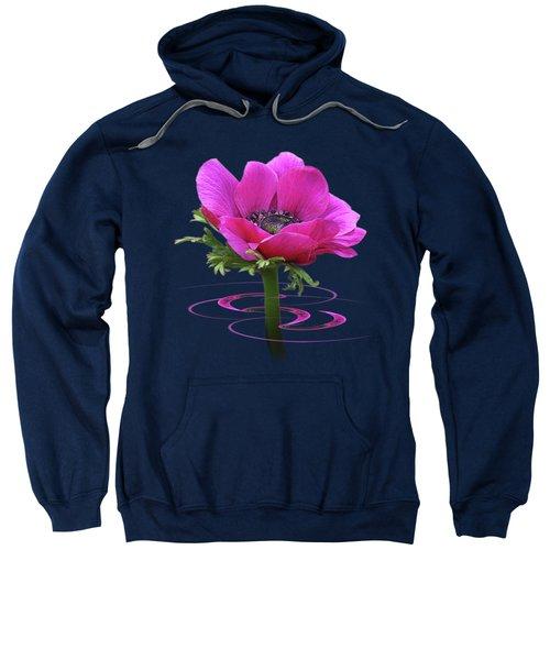 Pink Anemone Whirl Sweatshirt