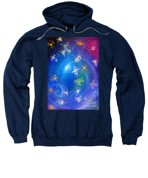 Plasmoids. Life In Space Sweatshirt