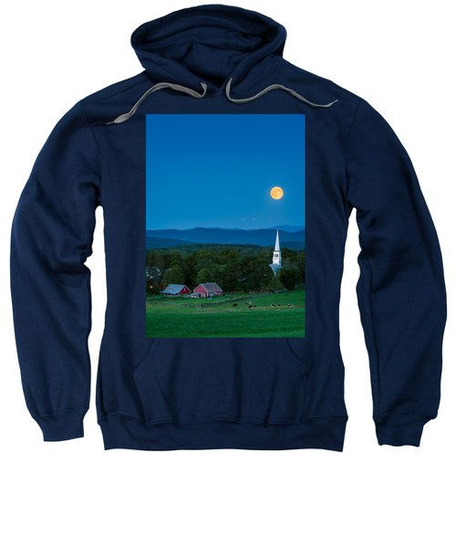Pointing At The Moon Sweatshirt