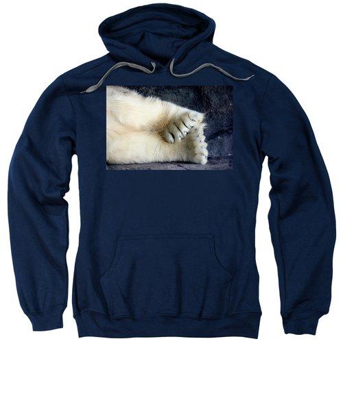 Polar Bear Paws Sweatshirt