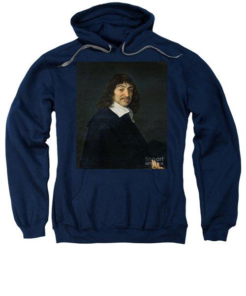 Portrait Of Rene Descartes Sweatshirt