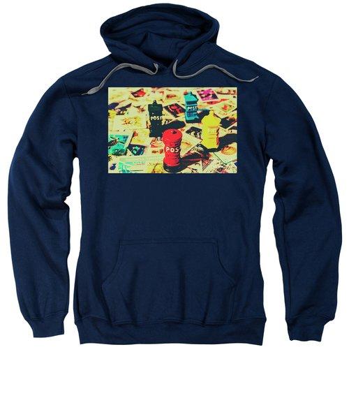 Postage Pop Art Sweatshirt